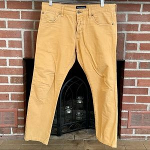 Scott & Soda Ralston Yellow Gold Pants W32 L26